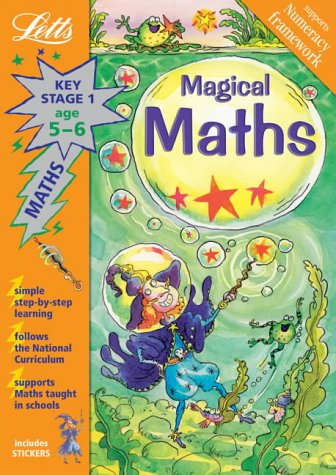 Magical Maths Age 5-6 (Letts Magical Topics): Huggins-Cooper, Lynn and