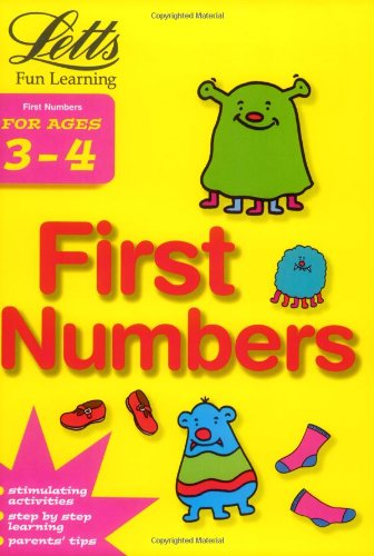 9781843152811: Letts Fun Learning FIRST NUMBERS AGE 3-4 (Letts Fun Farmyard Learning)