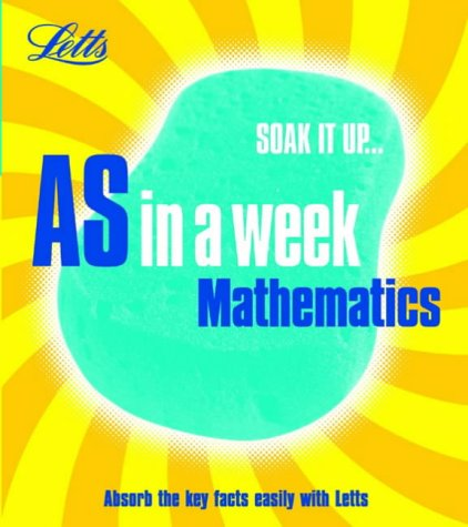 9781843153573: Mathematics (Revise AS in a Week)
