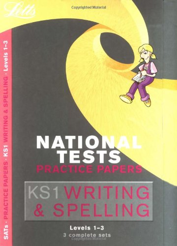 9781843154938: Writing and Spelling: Levels 1-3 (Letts Key Stage 1 Practice Test Papers)