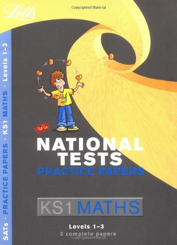 9781843154945: Letts Key Stage 1 Practice Test Papers – Maths: Levels 1-3 (National Test Practice Paper Folders)