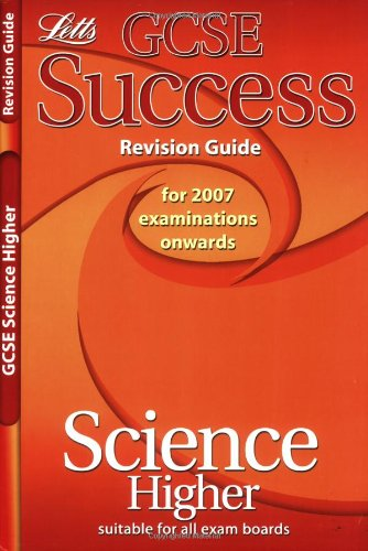 9781843156451: Science - Higher Tier: Revision Guide (2012 Exams Only) (Letts GCSE Success)