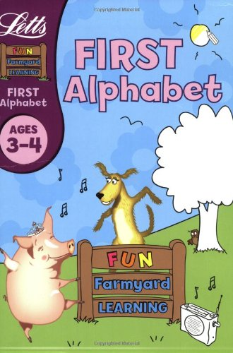 9781843156901: First Alphabet Age 3-4 (Fun Farm Yard Learning)