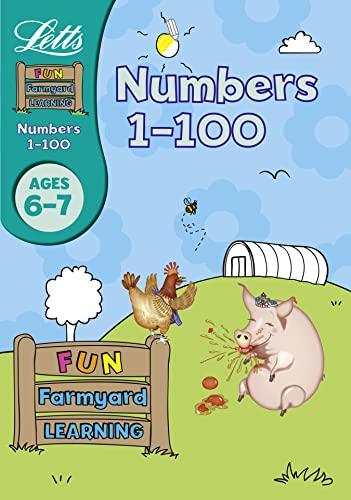 Numbers 1-100 Age 6-7 (Letts Fun Farmyard: Huggins-Cooper, Lynn