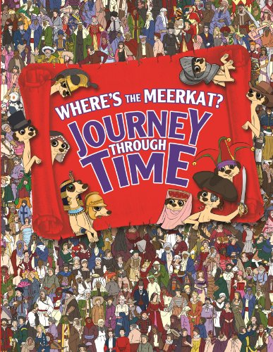 9781843178040: Where's The Meerkat? Journey Through Time (Search and Find)