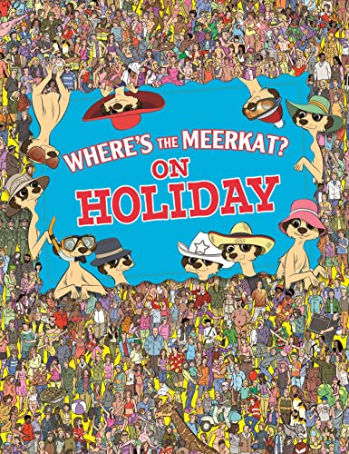 9781843178897: Where's the Meerkat? On Holiday