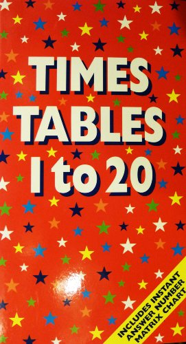 9781843223887: Times Tables 1 to 20