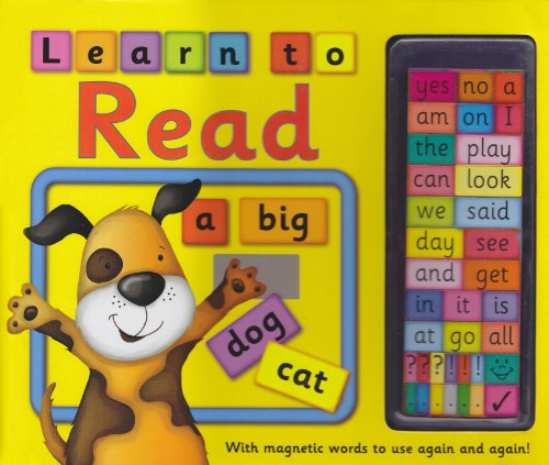 Magnetic Learn to Read (9781843224921) by Nicola Baxter