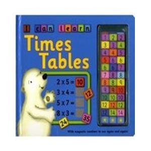 I Can Learn Times Table (9781843226208) by Nicola Baxter