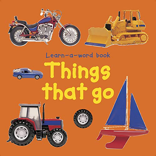 9781843227526: Learn A Word Book: Things That Go