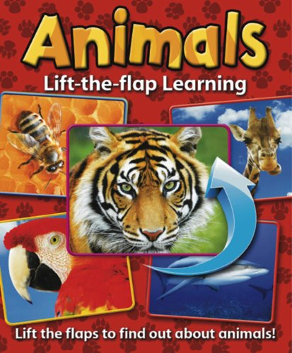9781843227939: Lift-the-Flap Learning: Animals: Lift the Flaps to Find Out About Animals!