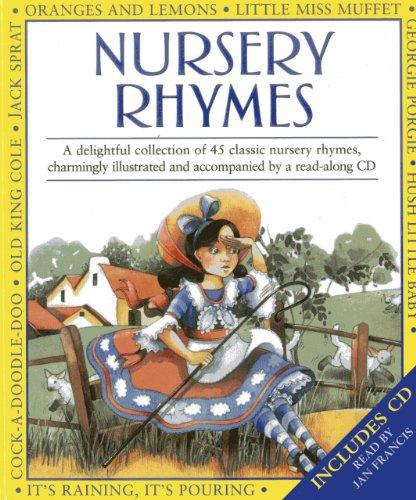 9781843228103: Nursery Rhymes: Book & CD Set
