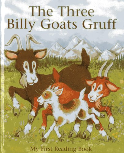 9781843228325: The Three Billy Goats Gruff: My first reading book