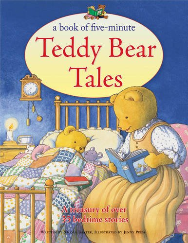 9781843228899: A Book of Five-Minute Teddy Bear Tales: A treasury of over 35 bedtime stories