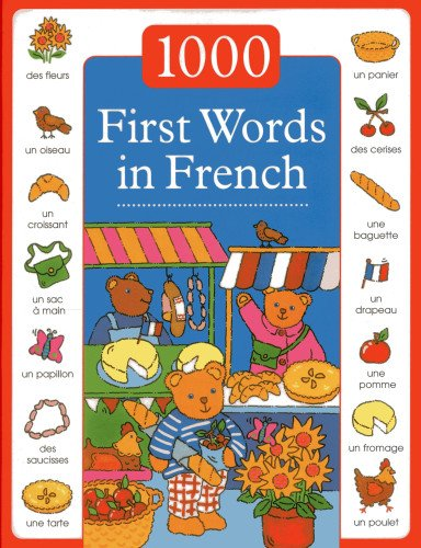 9781843229575: 1000 First Words in French