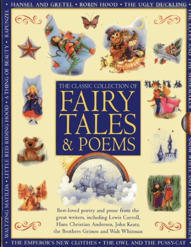 Classic Collection of Fairy Tales Poems: Best-loved