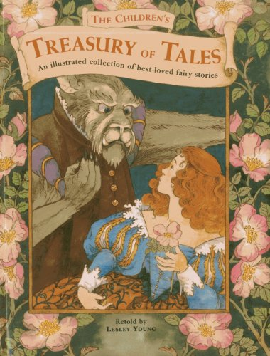 9781843229766: The Children's Treasury of Tales: An illustrated collection of best-loved fairy stories
