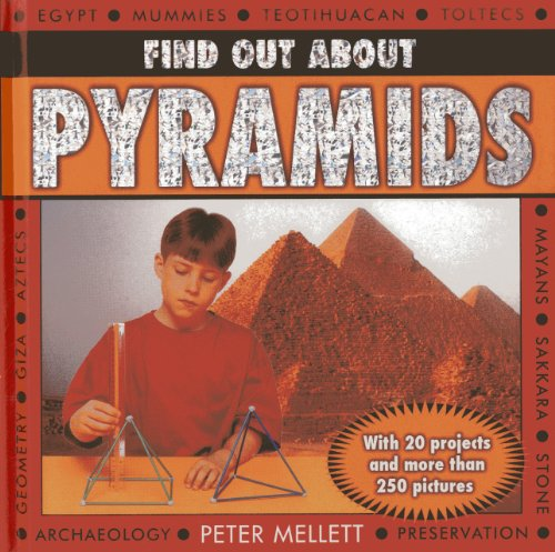 9781843229797: Find Out About Pyramids: With 20 projects and more than 250 pictures
