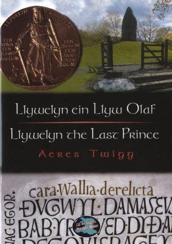 Llywelyn Ein Llyw Olaf: Llywelyn the Last Prince (Cyfres Cip Ar Gymru / Wonder Wales): Twigg, ...