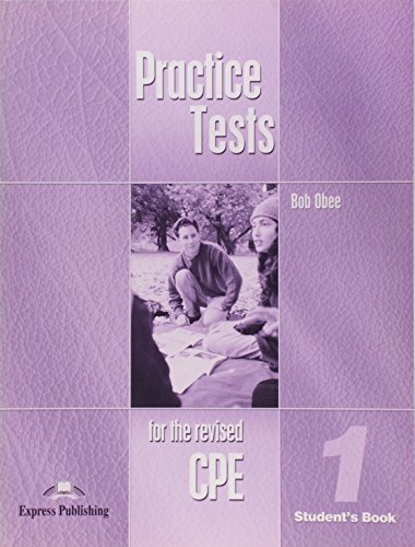 9781843251224: Practice Tests for the Revised CPE - Student's