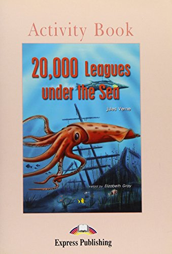 9781843251552: 20,000 Leagues Under the Sea: Activity Book