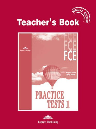 9781843252313: FCE Practice Tests 1: Teacher's Book - Special Edition
