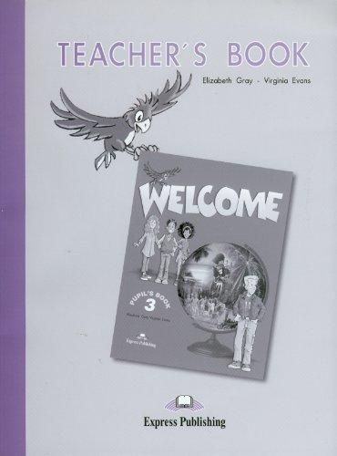 9781843253051: Welcome 3: Teacher's Book