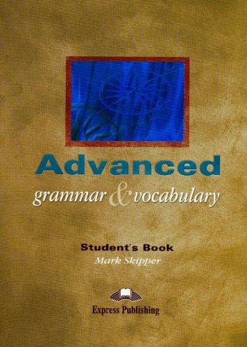 9781843255093: Advanced Grammar & Vocabulary