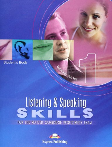 9781843255406: Listening and Speaking Skills for Revised Cpe: 1