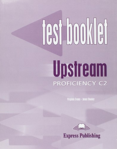 9781843256267: Upstream Proficiency C2 Test Booklet with Key