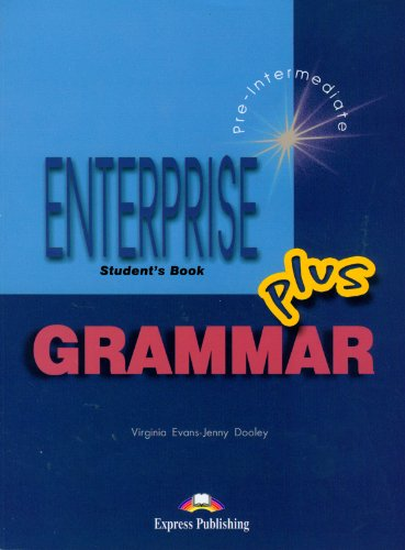 9781843256335: Enterprise 3 Plus Pre-intermediate Grammar Student's Book