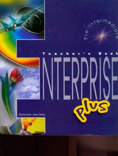9781843258131: Enterprise 3 Plus Pre-intermediate Teacher's Book