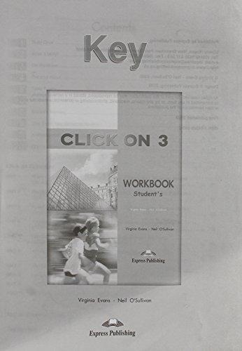 9781843259404: Click on 3 Workbook Key