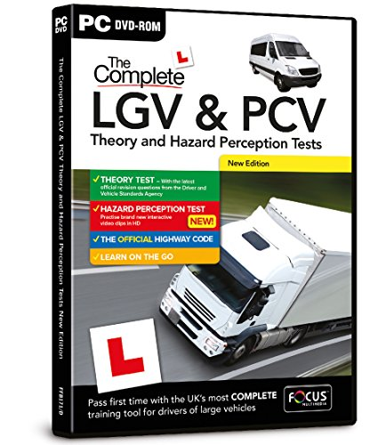 The Complete LGV & PCV Theory & Hazard Perception Tests 2014-15: Focus Multimedia