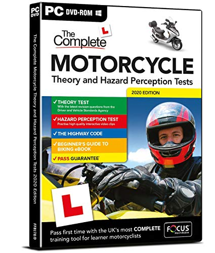 The Complete Motorcycle Theory and Hazard Perception Tests 2016 (Dts): Focus Multimedia
