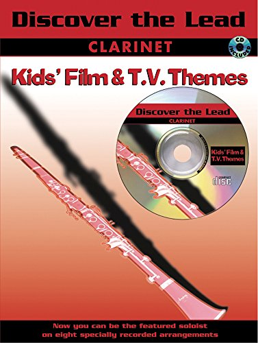 9781843281238: Discover the Lead: Kid's Film and TV (For Clarinet with Free Audio CD)
