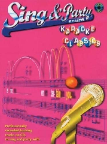 9781843282020: Sing and Party With Karaoke Classics Piano, Voix, Guitare+CD: (Piano/vocal/guitar)