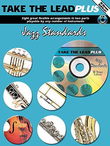 9781843282822: Take the Lead Plus Jazz Standards: B-flat Brass Instruments, Book & CD
