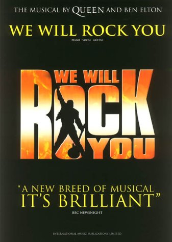 Queen: We Will Rock You: Piano, Vocal,