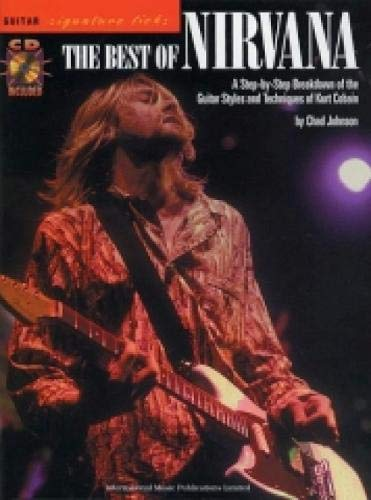 9781843283560: Signature Licks: The Best of Nirvana (Guitar Tab with Free Audio CD)