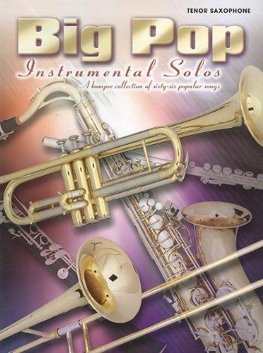 9781843284086: Big Pop Instrumentals: Tenor Sax (Big Pop Instrumental Solos)