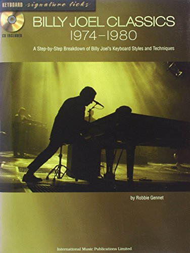 Imp-Billy Joel Keyboard Sig.Licks 1974-80 (1843285347) by Billy Joel