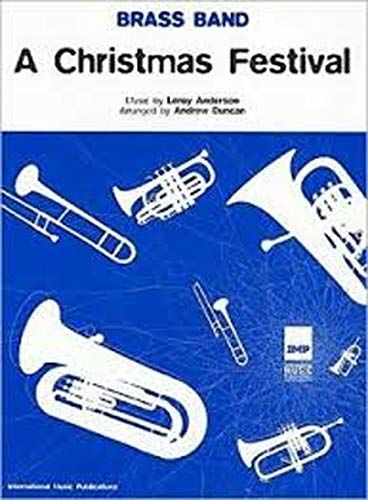 Christmas Festival: (Brass Band Score and Parts): Leroy Anderson