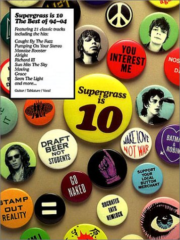 9781843287360: Partition : Supergrass Supergrass is 10 Guit. Tab.