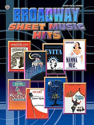 9781843287483: Alfred 55-10049A Broadway Sheet Music Hits