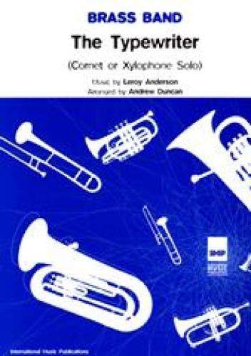 9781843288121: Brass band: the typewriter: (Brass Band) (Score and Parts)