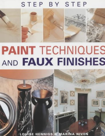 9781843303756: Step-by-step Paint Techniques and Faux Effects