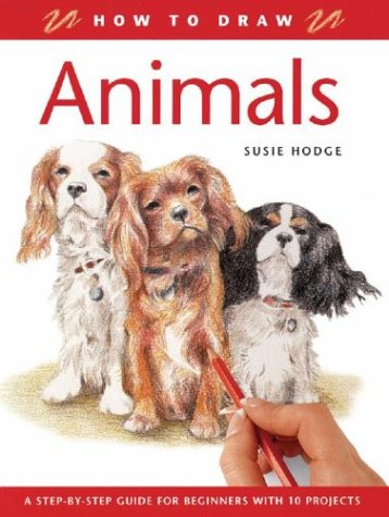 9781843306009: How to Draw Animals: A Step-By-Step Guide for Beginners with 10 Projects