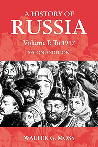 9781843310235: A History of Russia Volume 1: To 1917 (Anthem Series on Russian, East European and Eurasian Studies)