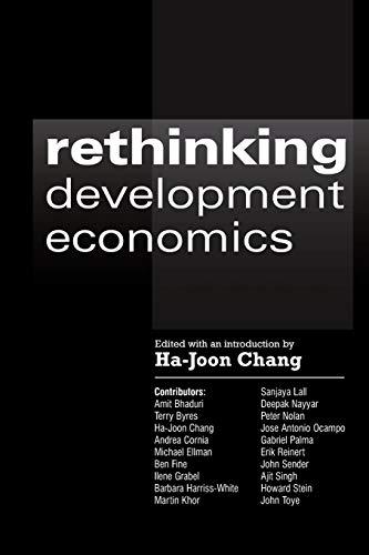 9781843311102: Rethinking Development Economics (Anthem Frontiers of Global Political Economy)